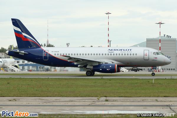 Sukhoi Superjet 100-95B (Aeroflot)