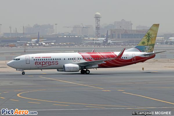 Boeing 737-8HG/WL (Air India Express)