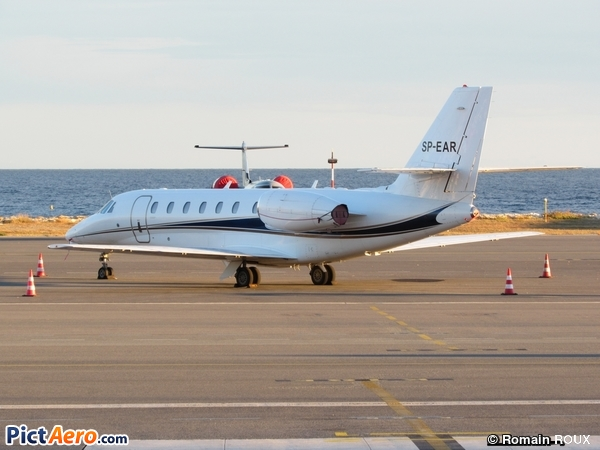 Cessna 680 Citation Sovereign (Blue Jet)