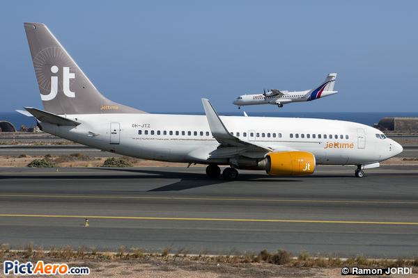 Boeing 737-73S(WL) (Jettime)