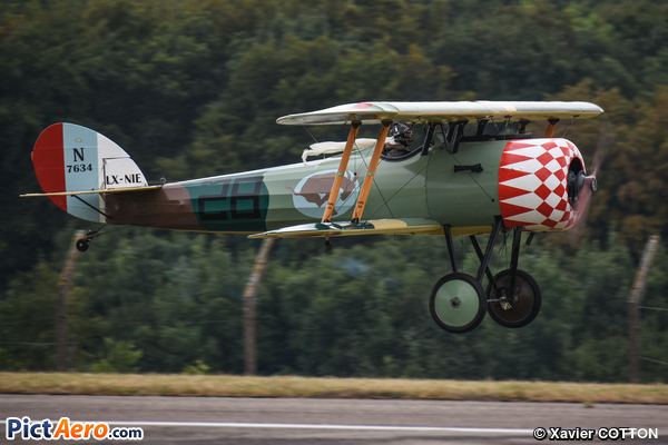 Nieuport 28 (ROUSSEL Thierry)