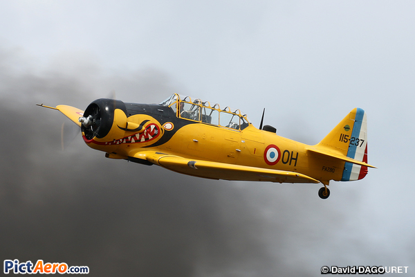 North American T-6G (Amicale Jean Baptiste Salis)