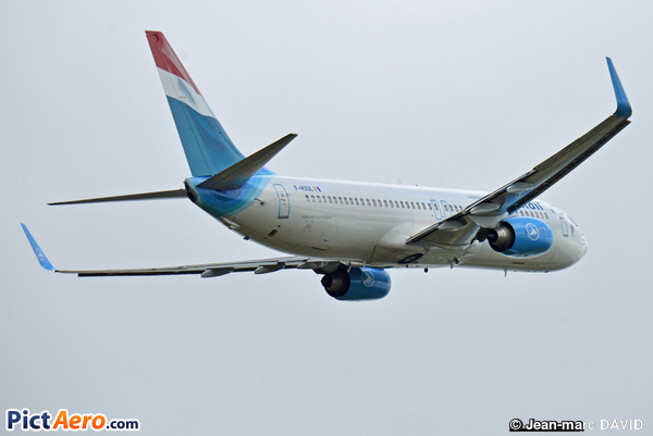 Boeing 737-8Q8/WL (Luxair - Luxembourg Airlines)