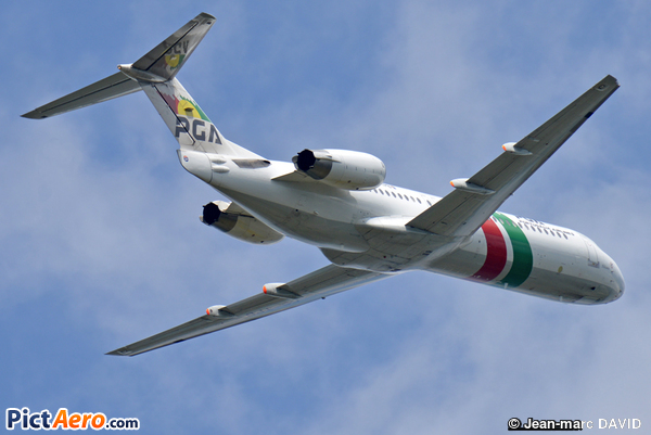 Fokker 100 (F-28-0100) (PGA Portugália Airlines)