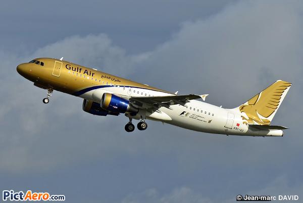 Airbus A320-214 (Gulf Air)