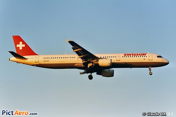 Airbus A321-111 (Swissair)