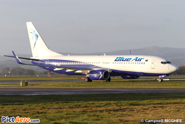 Boeing 737-85F/WL (Blue Air)