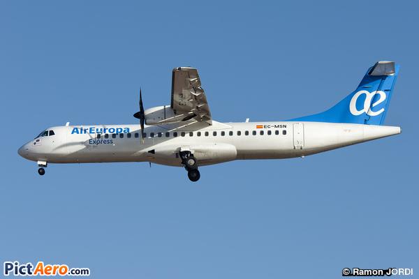ATR 72-500 (ATR-72-212A) (Air Europa Express)