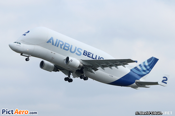 Airbus A300B4-608ST Super Transporter (Airbus Transport International)