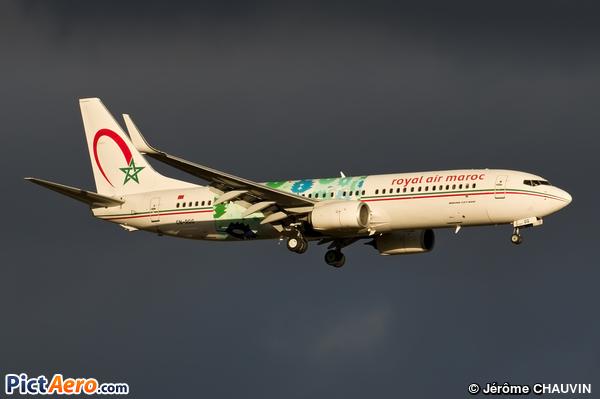 Boeing 737-86N(WL) (Royal Air Maroc (RAM))