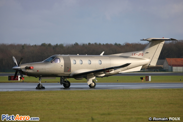 Pilatus PC-12/47 (Jetfly Aviation SA Luxembourg)