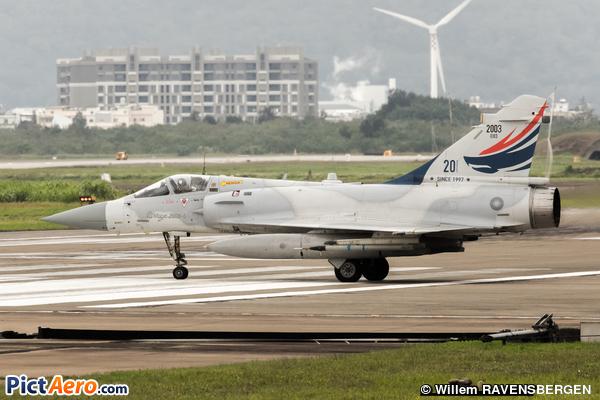 Dassault Mirage 2000Ei (Taiwan - Air Force)