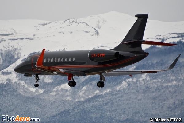 Dassault Falcon 2000LX (Global Jet Luxembourg)