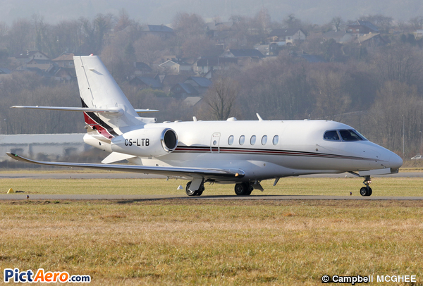 Cessna 680A Citation Latitude (NetJets Europe)