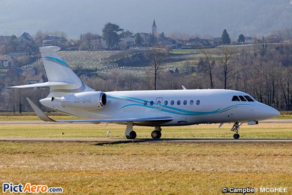 Dassault Falcon 2000EX (Abelag Aviation )