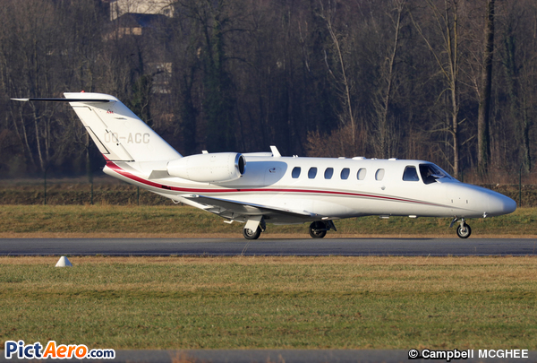 Cessna 525A CitationJet CJ2+ (Liège Air Service)