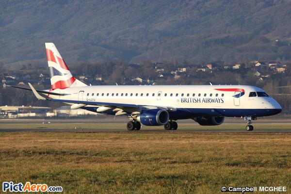 Embraer ERJ-190SR (BA CityFlyer)