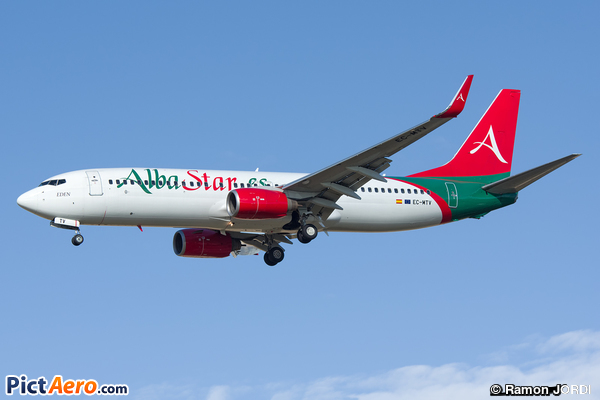 Boeing 737-8K5/WL (AlbaStar)