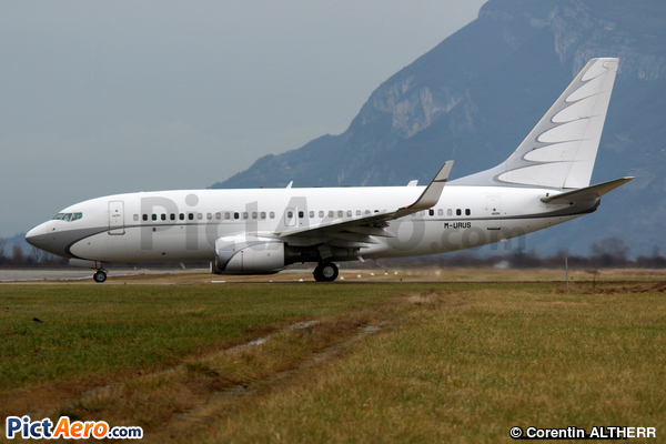 Boeing 737-7GC/BBJ (Global Jet Luxembourg SA, Luxembourg)
