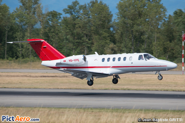 Cessna 525A CitationJet CJ2 (ExecuJet Europe)