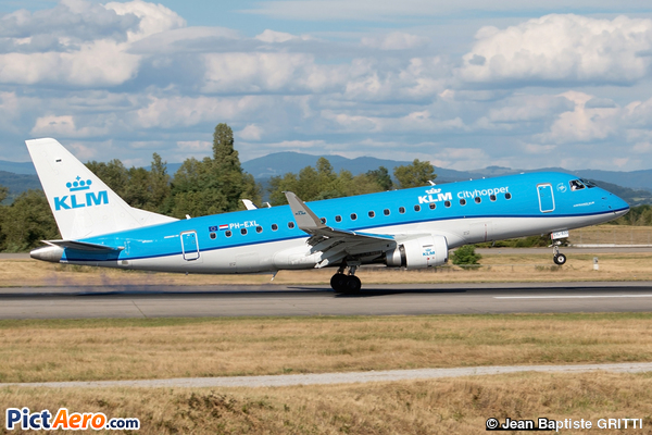 Embraer ERJ-175STD (KLM Cityhopper)