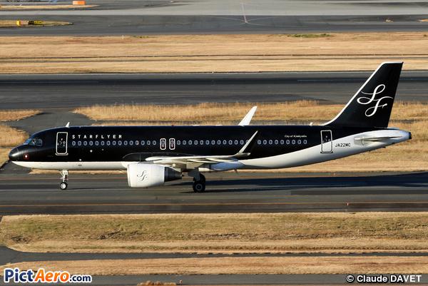 Airbus A320-214/WL  (Starflyer)