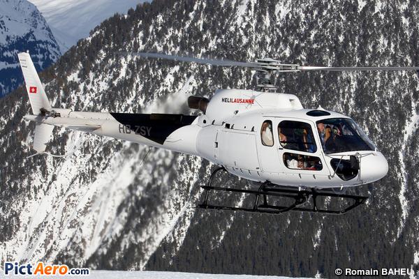 Eurocopter AS-350 B3e (HéliLausanne)