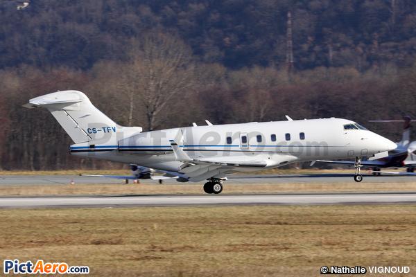 Bombardier BD-100-1A10 Challenger 300 (Omni Aviação e Tecnologia)