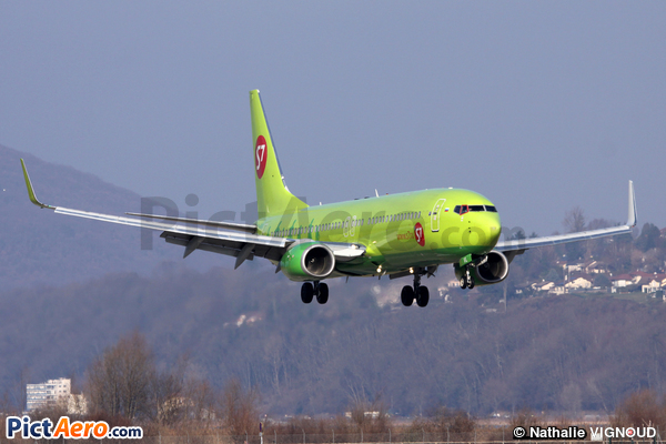 Boeing 737-8GJ/WL (S7 Siberia Airlines)