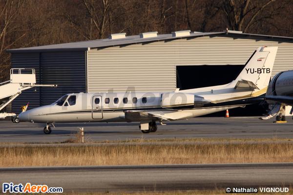 Cessna 550B Citation Bravo (Air Pink)