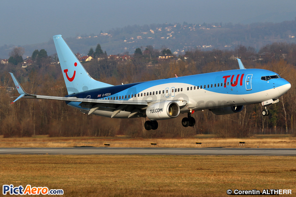 Boeing 737-8K5/WL (TUI Airways)