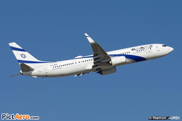 Boeing 737-958 (ER)(WL) (El Al Israel Airlines)