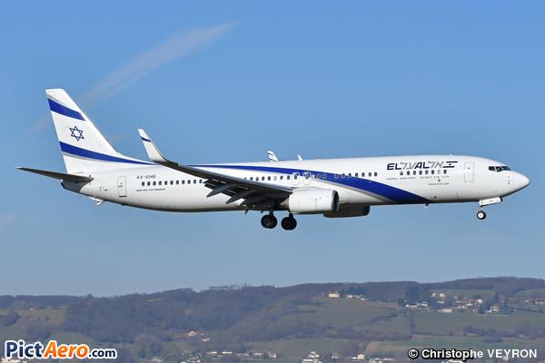 Boeing 737-958/ER (El Al Israel Airlines)