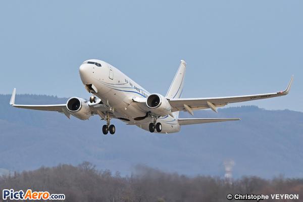 Boeing 737-7HD/BBJ (Gazpromavia)