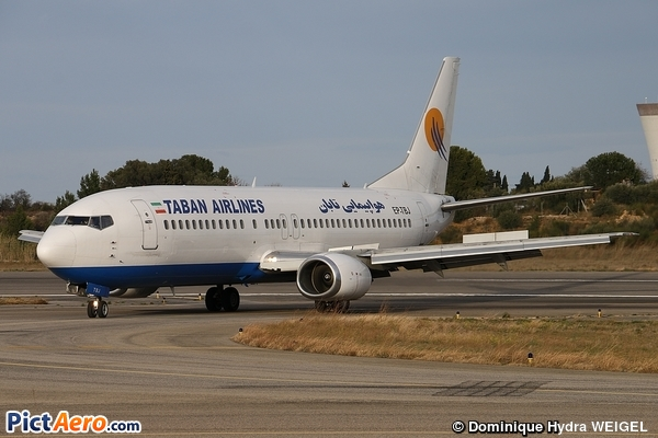 Boeing 737-4Q8 (Taban Air)