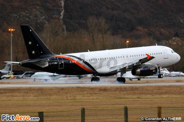Airbus A320-232 (Titan Airways)