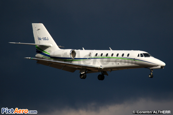 Cessna 680 Citation Sovereign (Travel Service)