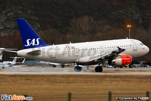 Airbus A319-131 (Scandinavian Airlines (SAS))