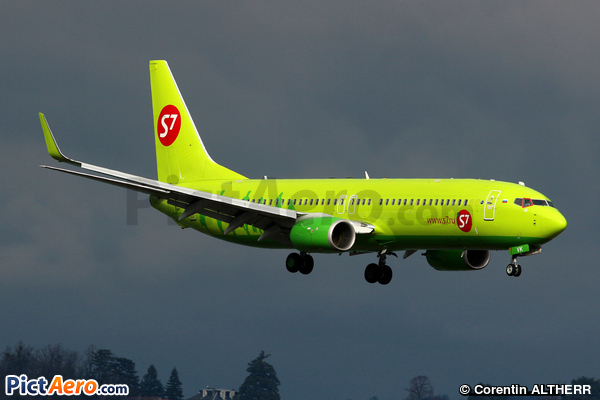 Boeing 737-8GJ/WL (S7 - Siberia Airlines)