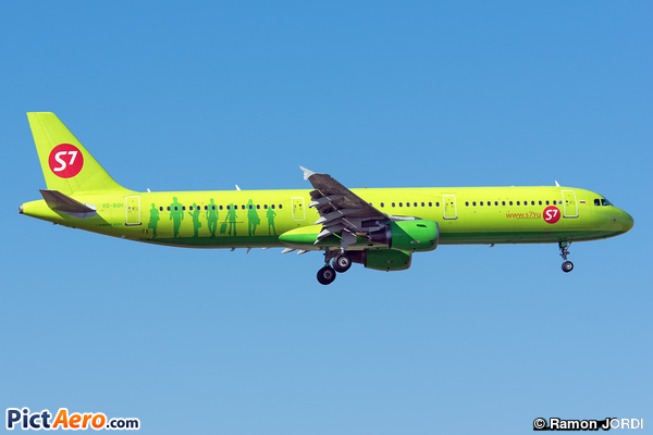 Airbus A321-211 (S7 - Siberia Airlines)