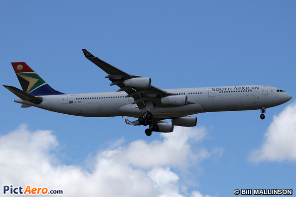 Airbus A340-313X (South African Airways)