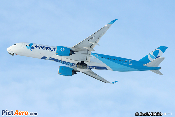 Airbus A350-941 (French Blue)