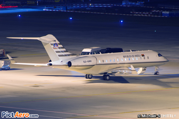 Bombardier BD-700-1A10 Global Express (Government of Angola)