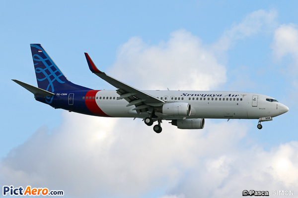 Boeing 737-83N/WL (Sriwijaya Air)