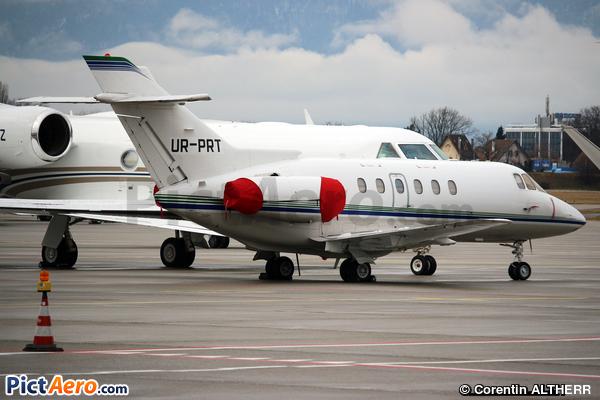 Raytheon Hawker 800XP (Windrose Air)