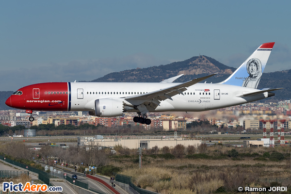 Boeing 787-8 Dreamliner (Norwegian Long Haul)