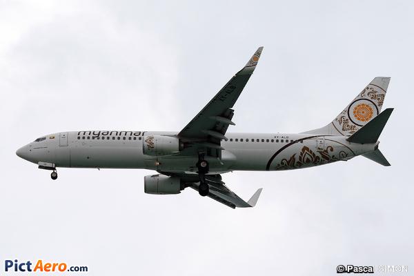 Boeing 737-86N/WL (Myanmar National Airlines)