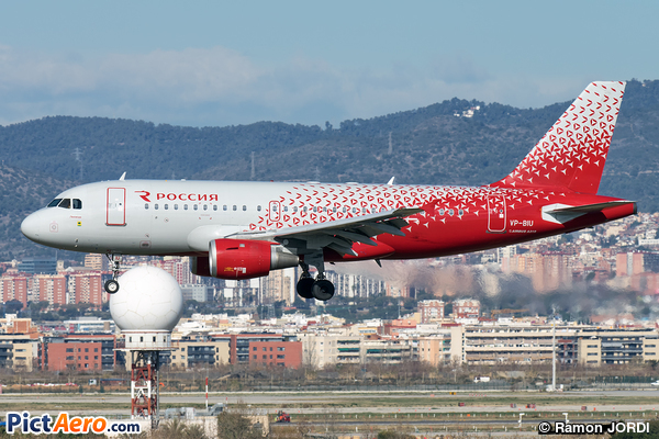 Airbus A319-113 (Rossiya - Russian Airlines)