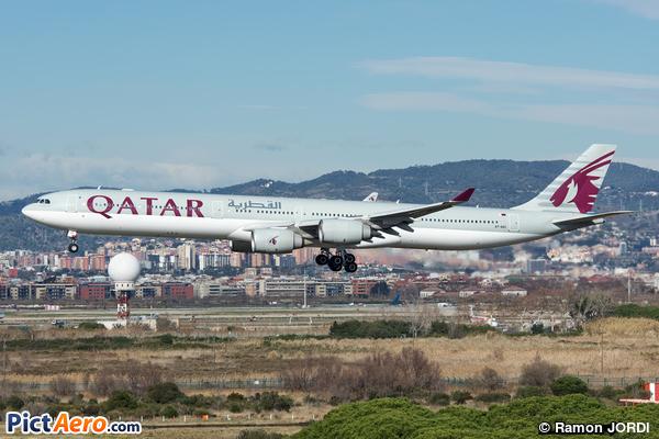Airbus A340-642 (Qatar Airways)