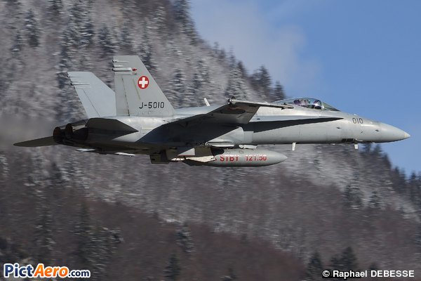 McDonnell Douglas F/A-18C Hornet (Switzerland - Air Force)